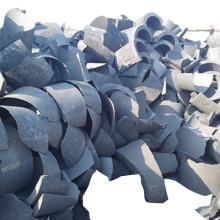 China manufacturer graphite electrode scrap graphite fragments low price