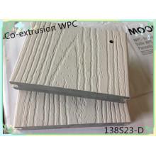 Kunststoffoberfläche bedeckt Holz Anti-Scratch Durable mit einer Kappe bedeckt Composite Decking