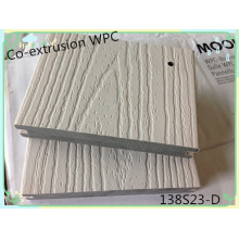 Cubiertas compuestas cubiertas durables antirrayaduras de madera cubiertas de la superficie plástica