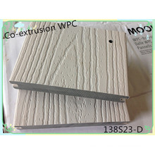 Plastic Surface Covered Wood Anti-Scratch Durable Capped Composite Decking