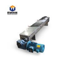 loading wood chip powder flexible screw conveyor