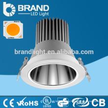 De alta calidad 20/30 grado empotrado LED Downlight 30W, luz LED hacia abajo COB 30W, 5 años de garantía