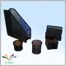 Оптовая канцелярские принадлежности металлическая сетка красивейший комплект подарка канцелярских