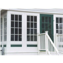 PVC Sliding Window with Grilles Designs