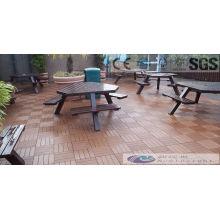 Holz Plasitic Composite Decking Fliesen mit SGS, Fsc, CE Zertifikat