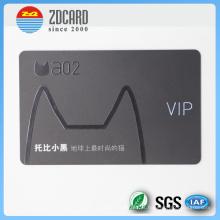 Personalizado cartão magnético de impressão clara para VIP