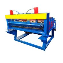 Aplatir la machine de plaque de cisaillement en acier