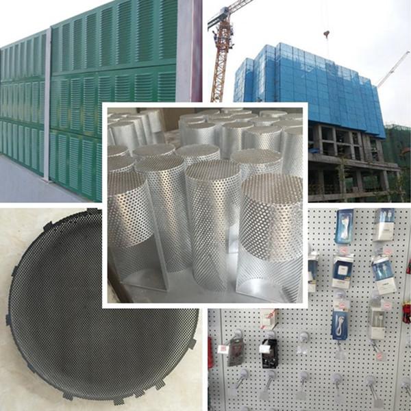 perforated metal usage