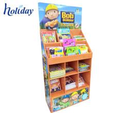 Kundengebundener Papierplakat-Buch-Broschüren-Ausstellungsstand, Farbdruck-faltbarer Anzeigen-Broschüren-Ausstellungsstand