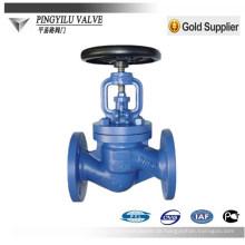 Grau Eisen Wasser Pipeling Globe Ventil