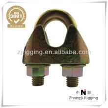 Clip de câble en acier galvanisé DIN 1142