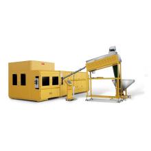 Роторная выдувная машина для ПЭТ преформ с 6 полостями