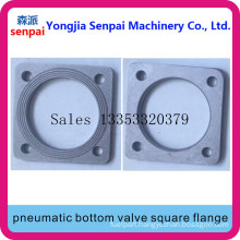 Tank Truck Accessory Pneumatic Bottom Valve Square Flange