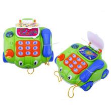 Coche del teléfono de B / O con la música Juguete del vehículo de teléfono para los niños