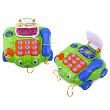 B / O Phone Car com música Telefone Vehicle Toy for Kids