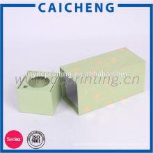 Caja de regalo de papel de embalaje de cartón por encargo