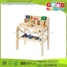 2015 Nuevo juguete de madera de la herramienta para los cabritos, juguete del banco de la herramienta para el niño, banco de trabajo de madera