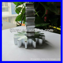 Hardend teeth spur gear module 6, teeth 13