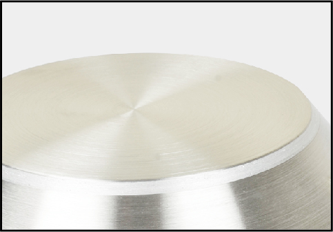 Three layer composite bottom design