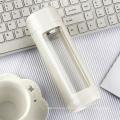 Garrafa de água de vidro da parede dobro de alta qualidade 320ml com filtro