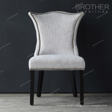New model Family decoration luxury Living room fabric dining chair