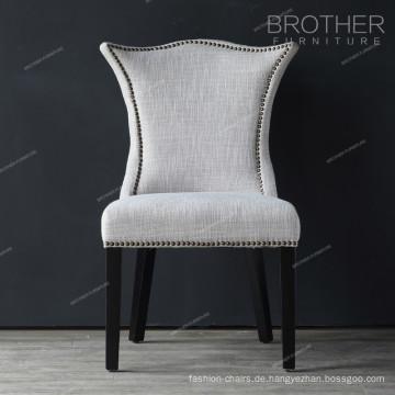 Neues Modell Familie Dekoration Luxus Wohnzimmer Stoff Esszimmerstuhl