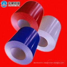 Color coating Aluminum Coil with PVDF or PE