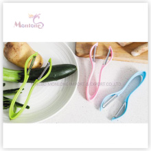 kitchen Multi-Purpose Stainless Steel ABS Fruit Peeler (17*6*2cm)