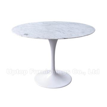 Natürliche weiße Carrara Eero Saarinen Marmor Tulip Tisch (SP-GT356)