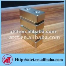 Nickel beschichtet NdFeB Magneten mit Zähler Loch