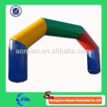 Arc gonflable gonflable à bas prix arc gonflable arc de ligne de démarrage / finition