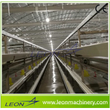 Sistema completo de gaiola em bateria automática série Leon para galinheiro / galpão com CE
