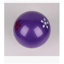 "Pelota de playa inflable de 7 "", pelotas de playa púrpuras del PVC para la promoción"