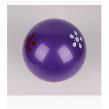 "7"" Inflatable Beach Ball, Purple PVC Beach Balls for Promotion"