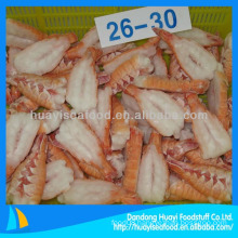 Frozen back-cut scampi