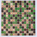 Cuarto de baño Piscina Ceramic Glass Mosaic Tile