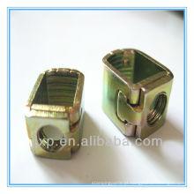 Terminais personalizados de medidores de potência de aço e estampagem de metal