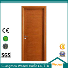 Natural Oak Veneer Interior Flush Door for Hotel Project
