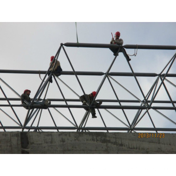 Steel Structure Space Frame Indoor Basketball Hall