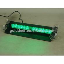 Visor de luz estroboscópica Led 12 voltios Auto llevó la luz de advertencia (SL361-V)