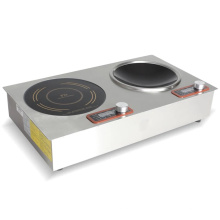 2 Burner Built-in Induction Cooker With Timer