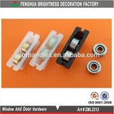 Sliding Nylon Window Roller / Sliding Patio Door Roller/small screen door rollers
