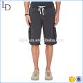 Pantalones cortos del cargo del espacio en blanco de la manera al por mayor 6 pantalones cortos del cargo del trabajo del bolsillo