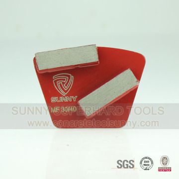 Outils de diamant pour le polissage et le polissage du plancher de béton