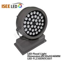 Appareil d'éclairage rond d'inondation de LED