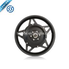 """12 """"engrenaram a roda do motor do cubo com o freio de disco para o carrinho de mão elétrico"""