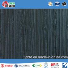 Цвет отделка волосяного покрова листа нержавеющей стали с SGS ИСО