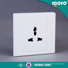 Igoto British Standard D2061 New Design Electrical Multi 3 Pin Wall Socket