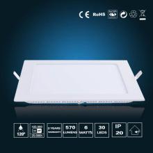 Luz de painel de LED 6W 120 * 120 * 16mm