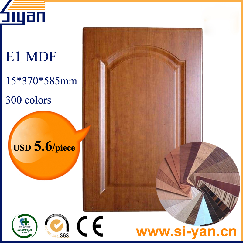Mdf unfinished replacement kitchen cabinet doors